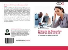 Portada del libro de Síndrome de Burnout en Maestros del Cch Ujed