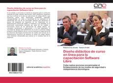 Diseño didáctico de curso en línea para la capacitación Software Libre的封面