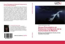 Buchcover von Acoso Psicológico en Población Inmigrante de la Comunidad de Madrid