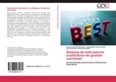 Bookcover of Sistema de indicadores cualitativos de gestión curricular