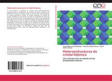 Couverture de Heteroestructuras de cristal fotónico