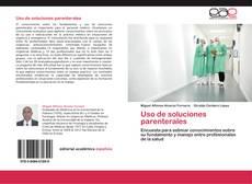 Uso de soluciones parenterales kitap kapağı