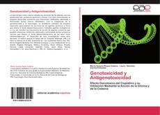 Portada del libro de Genotoxicidad y Antigenotoxicidad