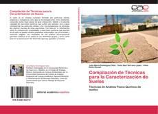 Copertina di Compilación de Técnicas para la Caracterización de Suelos