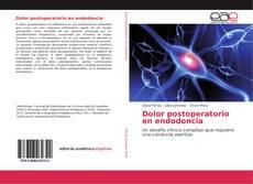 Buchcover von Dolor postoperatorio en endodoncia