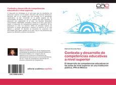 Portada del libro de Contexto y desarrollo de competencias educativas a nivel superior