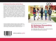 El Sistema Preventivo de Don Bosco的封面
