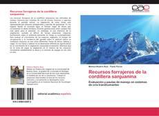 Recursos forrajeros de la cordillera sanjuanina的封面