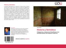 Capa do livro de Historia y Semiótica