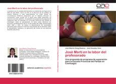Bookcover of José Martí en la labor del profesorado