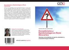 Bookcover of Escepticismo y Epistemología en René Descartes
