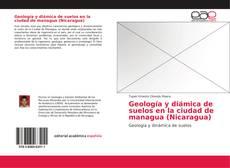 Portada del libro de Geología y diámica de suelos en la ciudad de managua (Nicaragua)