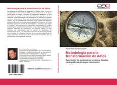 Portada del libro de Metodología para la transformación de datos