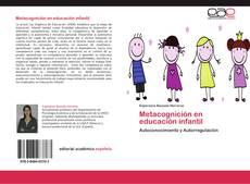 Borítókép a  Metacognición en educación infantil - hoz