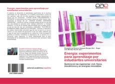 Capa do livro de Energía: experimentos para aprendizaje por estudiantes universitarios