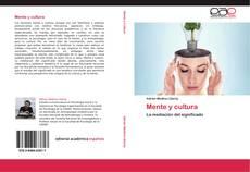 Borítókép a  Mente y cultura - hoz