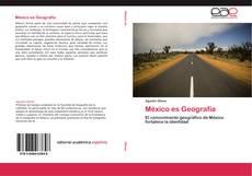 Portada del libro de México es Geografía