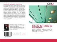 Estudio de calidad de aire interior kitap kapağı