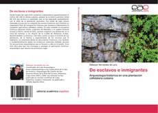 Portada del libro de De esclavos e inmigrantes