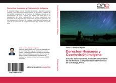 Copertina di Derechos Humanos y Cosmovisión Indígena