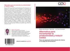 Capa do livro de Alternativa para incrementar la productividad y reducir costos