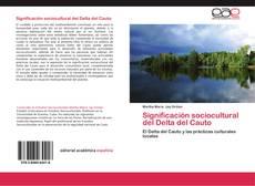 Bookcover of Significación sociocultural del Delta del Cauto
