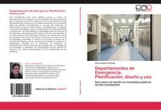 Bookcover of Departamentos de Emergencia. Planificación, diseño y uso