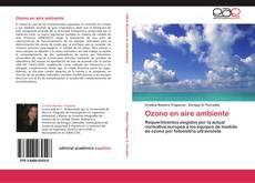Couverture de Ozono en aire ambiente