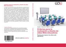 Portada del libro de Criterios para la evaluación y diseño de sitios Web educativos
