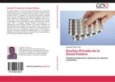 Buchcover von Gestión Privada de la Salud Pública