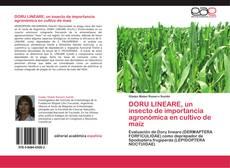 Portada del libro de DORU LINEARE, un insecto de importancia agronómica en cultivo de maíz