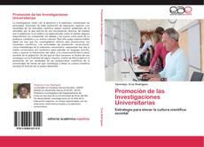 Promoción de las Investigaciones Universitarias kitap kapağı