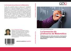Copertina di La formación de profesores de Matemática