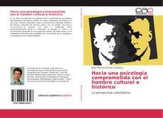 Capa do livro de Hacia una psicología comprometida con el hombre cultural e histórico
