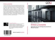 Capa do livro de Crimen y economía