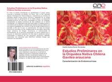 Portada del libro de Estudios Preliminares en la Orquídea Nativa Chilena Gavilea araucana