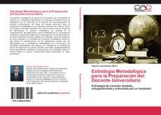Estrategia Metodológica para la Preparación del Docente Universitario的封面