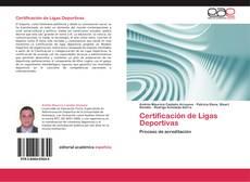Capa do livro de Certificación de Ligas Deportivas