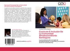 Обложка Currículo E Inclusión De La Comunidad Afrodescendiente Santiaguna