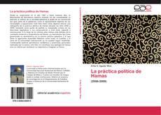 La práctica política de Hamas kitap kapağı