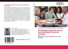 Buchcover von Estrategia didáctica para la motivación hacia el estudio