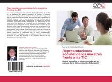 Bookcover of Representaciones sociales de los maestros frente a las TIC