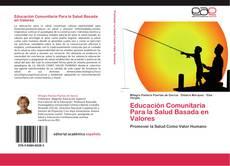 Portada del libro de Educación Comunitaria Para la Salud Basada en Valores