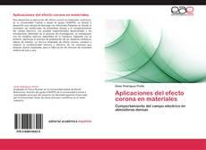 Portada del libro de Aplicaciones del efecto corona en materiales