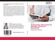 Capa do livro de Andragogía: Educación de Adultos, ¿Ciencia o Disciplina?