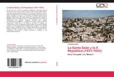 Portada del libro de La Santa Sede y la II República (1931-1933)