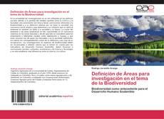 Bookcover of Definición de Áreas para investigación en el tema de la Biodiversidad