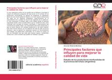 Portada del libro de Principales factores que influyen para mejorar la calidad de vida