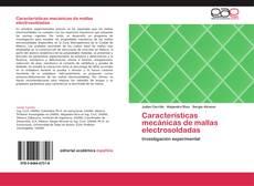 Portada del libro de Características mecánicas de mallas electrosoldadas