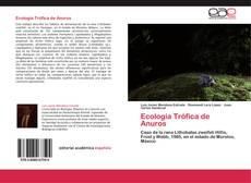 Portada del libro de Ecología Trófica de Anuros
